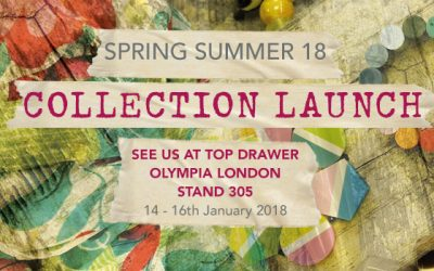 NEW COLLECTION LAUNCH at TOP DRAWER, OLYMPIA